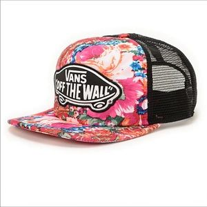 Vans Floral Off the Wall Hat